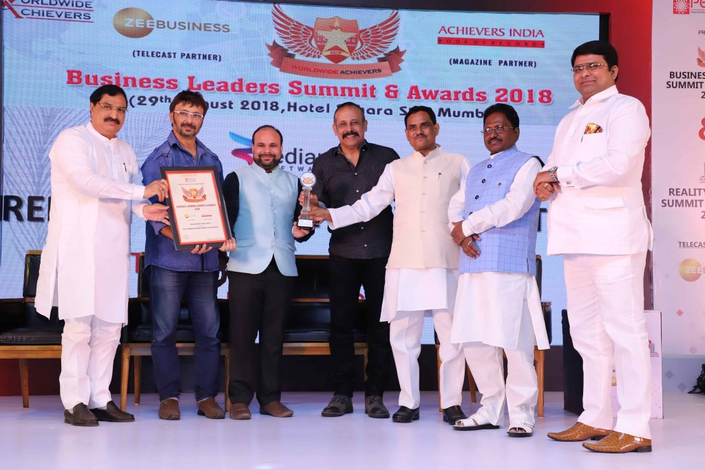 Redian Software achieves the award for the best Software development company in Uttar Pradesh.